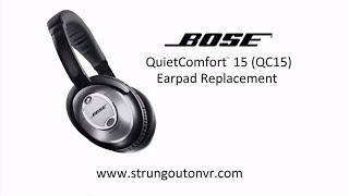 Bose QC15 Earpad Replacement