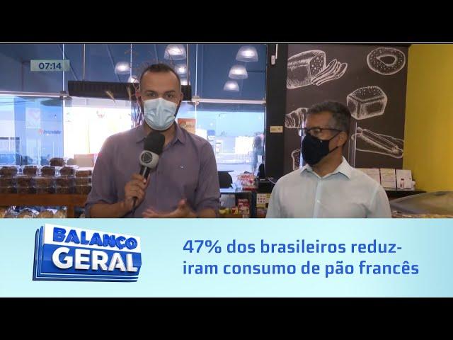 Café da manhã mais pobre:47% dos brasileiros reduziram consumo de pão por conta do aumento do preço