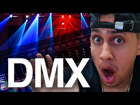 LEARNING HOW TO DMX / PROGRAM DJ LIGHTS | FAIL