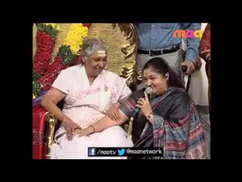 Chitra Amma speech about great S.Janaki Amma