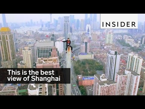 This is how to get the best view of Shanghai