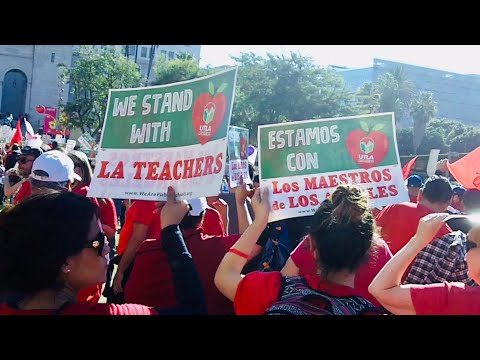 "The UTLA ""March for Education"""