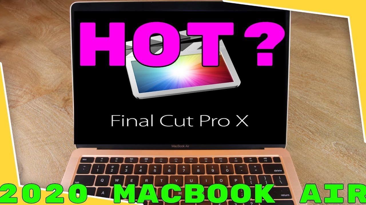 4k Video Editing On 2020 Macbook Air Is It Worth It Youtube