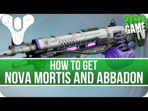 Destiny How to get Nova Mortis and Abbadon - New Exotic Machine Guns (Songs from the Void Quest)