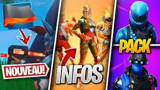 NEW CAMOUFLAGE SECRET - INFORMATION on FORTNITE PACKS! (Fortnite News)