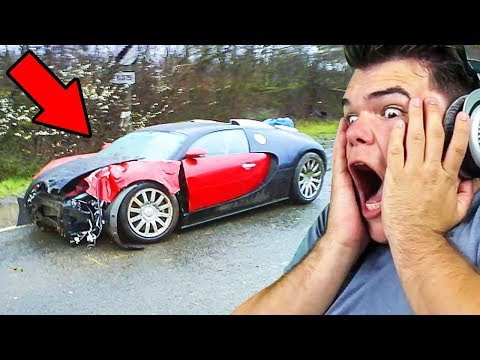 REACTING TO SUPER CAR CRASHES (INSANE)