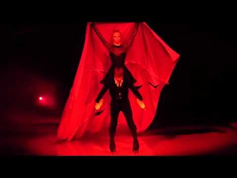 Алексей Ягудин и Татьяна Тотьмянина в сцене Буря - Кармен, Сочи, 2016