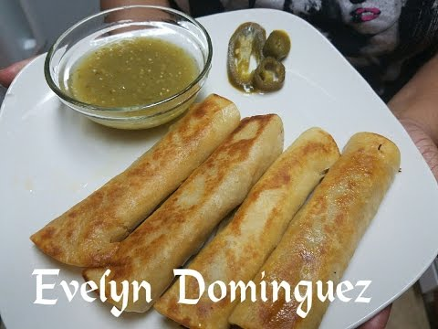 How to make beef and Cheese Taquitos