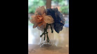Shavuot Coffee Filter Flowers