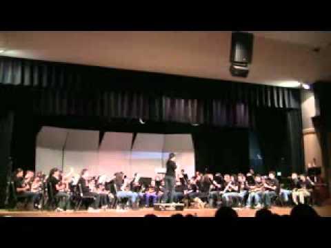 WANTAGH SCHOOL BAND DAY 2012:YOUNG MOLLY BAWN & KILLYBURN BRAE