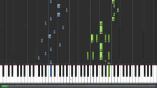 Repeat youtube video Touhou - Flight of the Bamboo Cutter ~ Lunatic Princess [2] (Piano Tutorial)