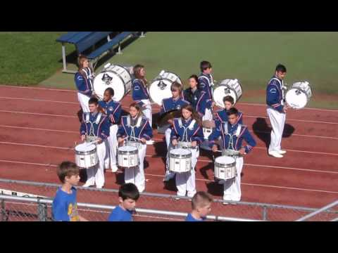 Buckhannon Upshur High School's Drum Line at the 2014 Robert C. Byrd 2nd Annual Drum Line Expo