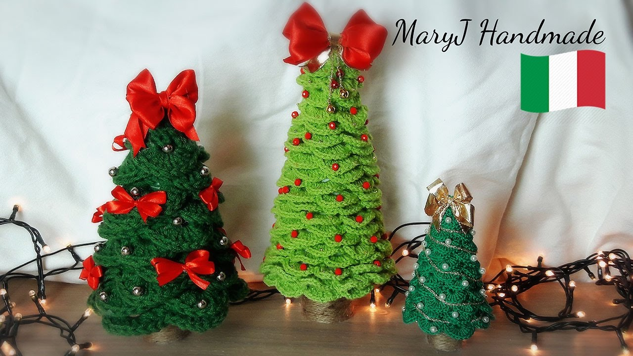 Ben noto Albero di Natale all'uncinetto | MARYJ HANDMADE - YouTube IH58