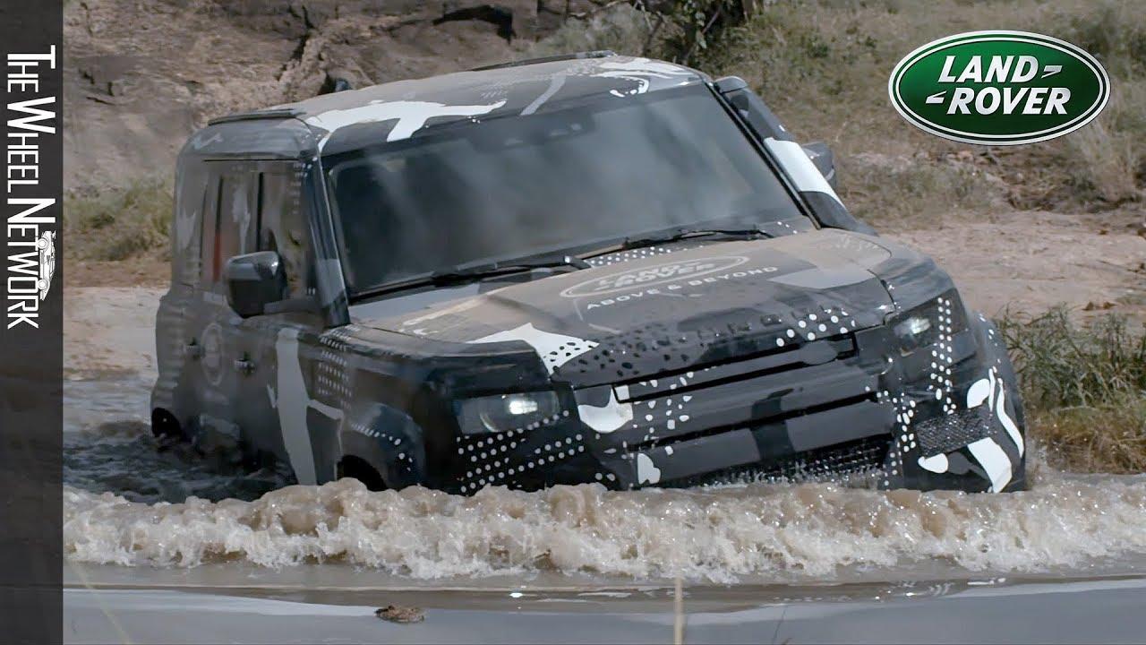 2020 Land Rover Defender Prototype Testing in Kenya