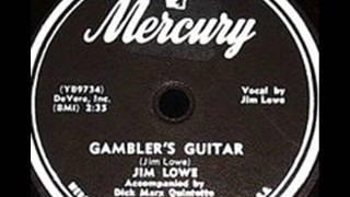 Jim Lowe   Gambler's Guitar   1953