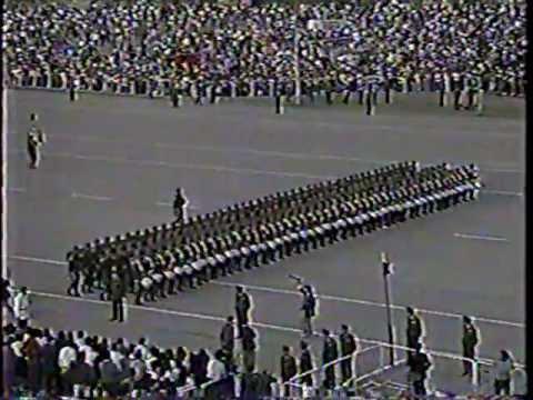 Parada Militar 1992 Chile:Ejército de Chile