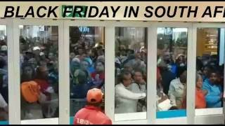 BLACK FRIDAY IN SOUTH AFRICA