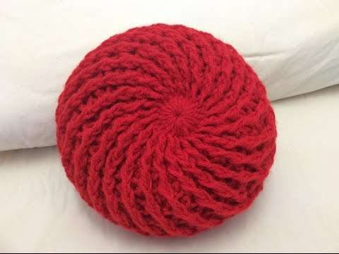 Móc mũ len đẹp phần 1 vòng 1_3 How to crochet a beret  hat part 1 round 1 to 3