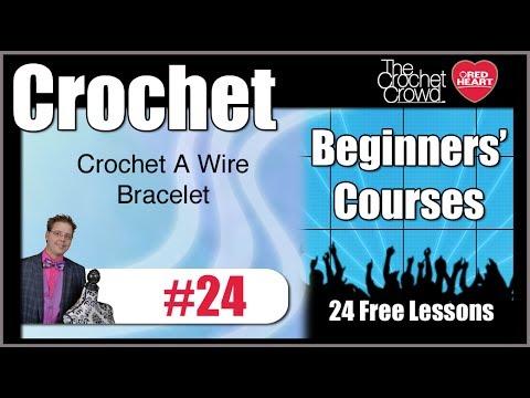 Crochet a Wire Bracelet