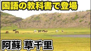 【熊本】バスで阿蘇山を観光 お手軽ポイントは草千里【1905ハワイ6】阿蘇駅→博多駅 5/19-101