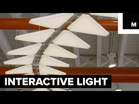 Interactive light fixture