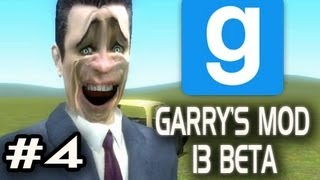Garry's Mod 13 Beta w/Nova & Sp00n Ep.4 - THE SCARIEST GMAN FACE