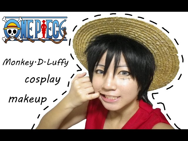 Cosplay makeup: Luffy (One Piece)