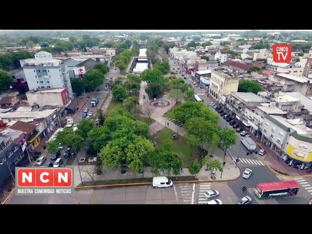 CINCO TV -Tigre y San Fernando inauguraron las plazas Carlos Pellegrini e Intendente Luis Castellari