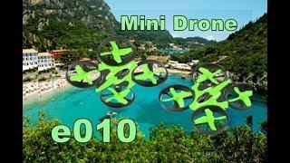 Eachine E010 Mini Quadcopter-flying