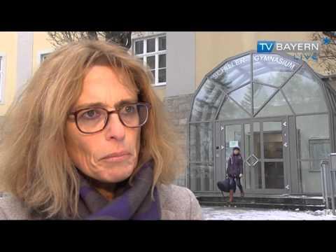 Kameraueberwachung des Schiller-Gymnasiums in Hof