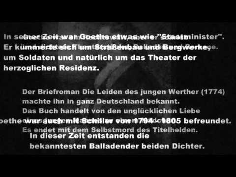 Johann Wolfgang von Goethe - Biographie