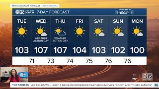 Excessive heat warning on the way