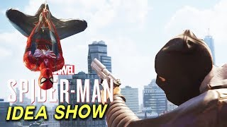SPIDER-MAN PS4 - POLICE HUD, SWIMMING & FUTURE DLC? (Spider-Man PS4 Show)