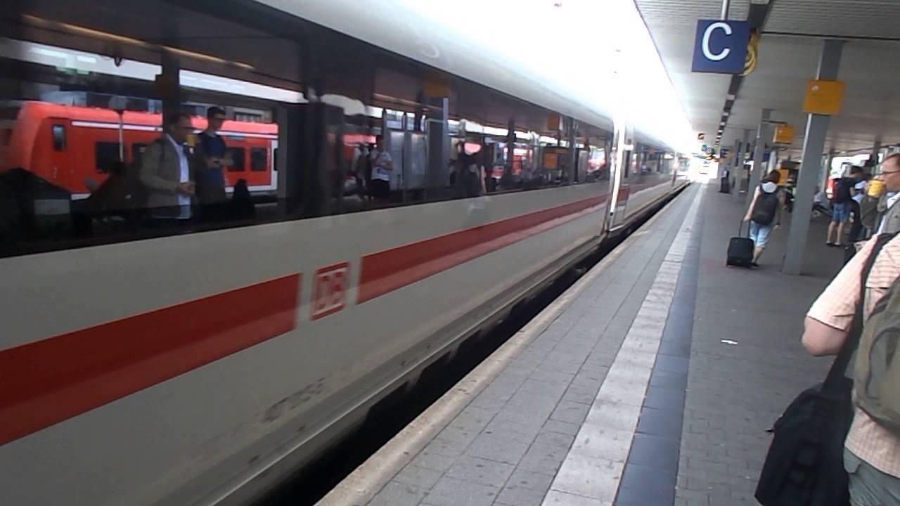 Zug Frankfurt Mannheim