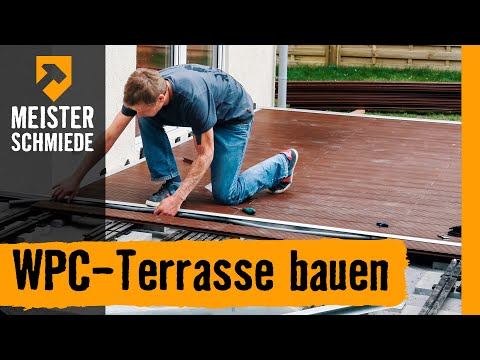 wpc terrasse bauen hornbach meisterschmiede. Black Bedroom Furniture Sets. Home Design Ideas