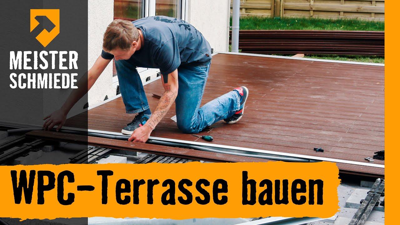 Wpc-Terrasse Bauen | Hornbach Meisterschmiede - Youtube