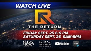 WATCH LIVE: The Return - National and Global Day of Repentance and Prayer | Friday, Sept 25, 2020