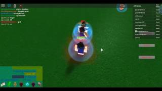 Roblox dragon ball Infinite Rage 2 episode: 1 failing to rek alot