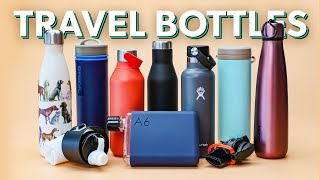 10 Excellent Travel Water Bottles | Hydro Flask, Klean Kanteen, Zojirushi, and More