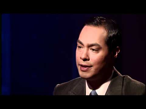 Maria Hinojosa interviews Mayor Julian Castro