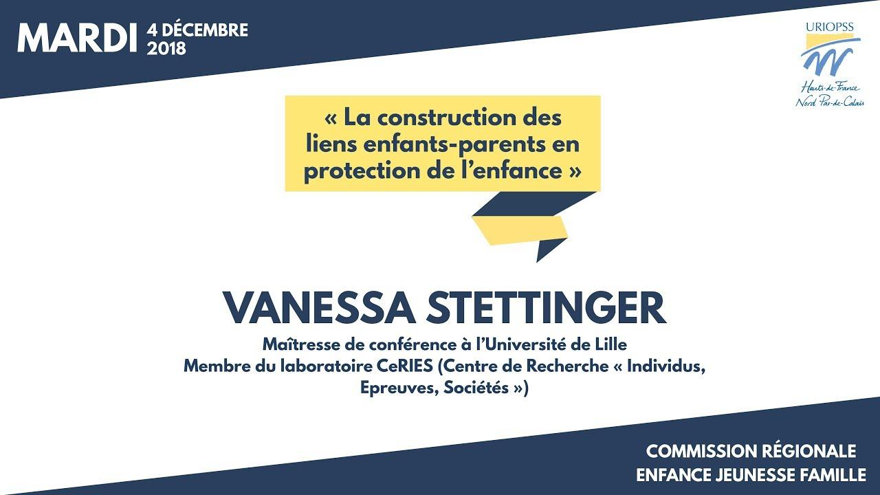 Youtube Video: Commission régionale EJF 2018 - Constats de l'enquête ethnographique de Vanessa Stettinger