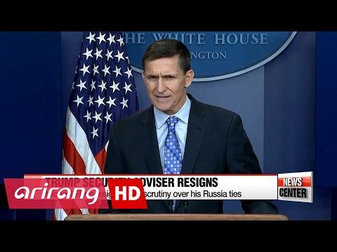 U.S. National Security Adviser Michael Flynn resigns