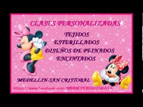 MINNI PEINADOS DE KATA .♥ CLASES PERSONALIZADAS