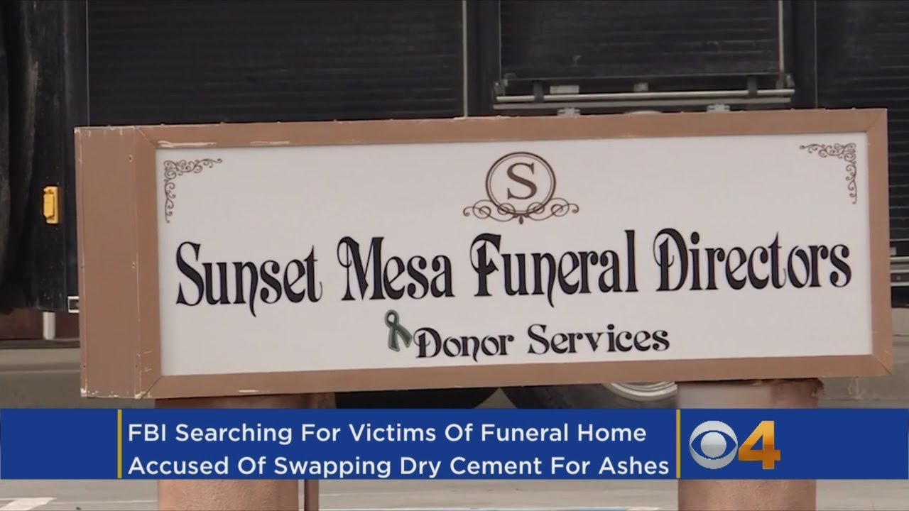 FBI To Test More Human Remains In Funeral Home Investigation