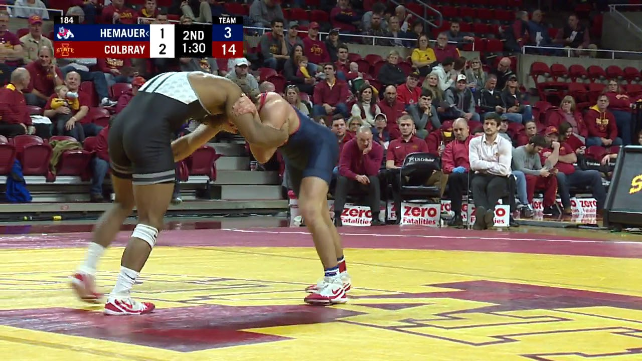 Iowa State Wrestling Highlights vs Fresno State