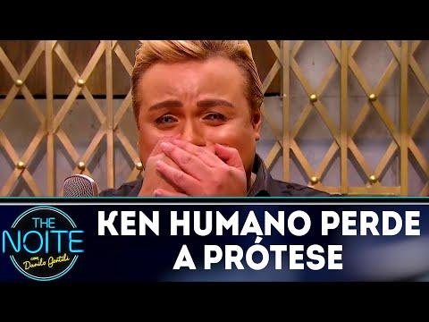 Ken Humano perde a prótese dentária | The Noite (11/04/18)