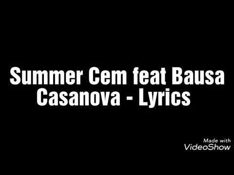 Summer Cem feat Bausa - Casanova (Official Lyrics)