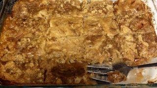 Caramel Apple Crumb Cake 3 Ww Points Per Slice - Omg Good!!! Easy!!!