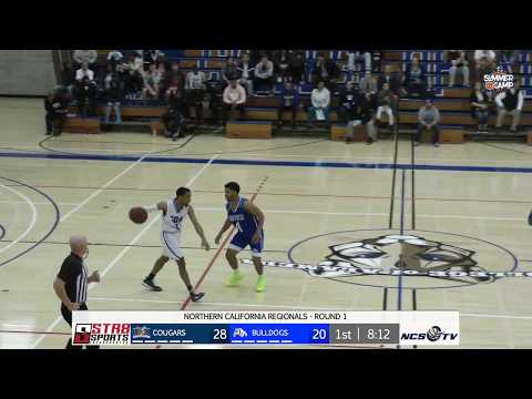 San Mateo vs College of Alameda Men's Basketball CCCAA Regional LIVE 2/26/20
