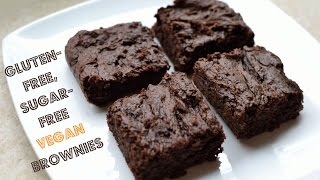 Gluten-Free, Sugar-Free Vegan Brownies